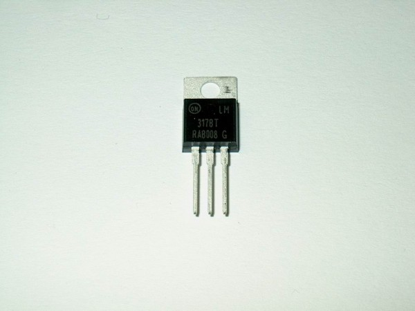 LM317BT - Spannungsregler TO220 +1,2V bis 37V, 1,5A ON-Semiconductor